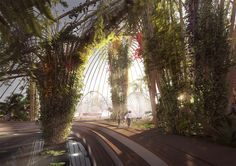 Gallery of Utopia Arkitekter Proposes Public Park in Stockholm Shrouded in Glass - 5
