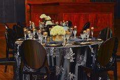 Gatsby Themed Table Decor