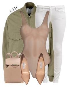 """Untitled #3053"" by kimberlythestylist ❤ liked on Polyvore featuring McQ by Alexander McQueen, 7 For All Mankind, Alexander Wang and Jimmy Choo"