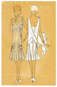 Vintage fashion – My World 1920s Fashion Women, Retro Fashion, Vintage Fashion, Moda Vintage, Vintage Mode, Art Deco Fashion, Fashion Prints, 1920s Glamour, Patron Vintage