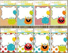 Wedding Invitations & Stationery by NellysPrint Little Monster Birthday, Monster 1st Birthdays, Monster Birthday Parties, Cute Monsters, Little Monsters, Festa Party, Diy Party, Monster Theme Classroom, Monster Birthday Invitations