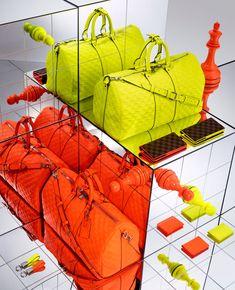 Louis Vuitton Spring 2013 Damier Signature Collection