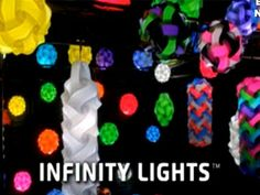 infinity lights | Infinity Lights - Decorative Light Art - 30 Piece Kit