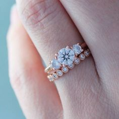 @briangavin wedding bands add even more sparkle to your big day! #weddingchicks #weddingbands #engagementring #wedding