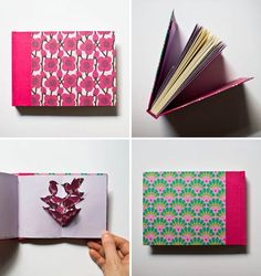 Custom handmade diary by Serena Olivieri; featured by PaperCrave. Ultra inspiration for a wonderfully personal gift.