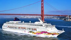 We loved San Francisco but it was the middle of winter, so we want to go back in summer...and I also want to go on a cruise, so this seems ideal!