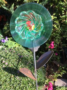 Glass Garden Flowers, All Flowers, Thrifting, Repurposed, Recycling, Home Appliances, Flooring, Home Decor, House Appliances