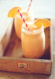 Orange cream cooler