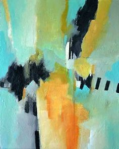 Contemporary Artists of Florida: Contemporary Modern Abstract Art Paintings by Filomena de Andrade Booth