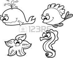 ryby cartoon photo