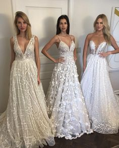 Take a look at some of the most incredible dresses for New York Bridal Fashion Week Spring/Summer 2017. From the bold to classic styles.