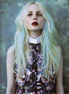Lady Selva: MODA. Hair chalk: Tíñete el pelo de colores sin dañarlo