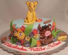 Lion King Cake, Pastel Rey León