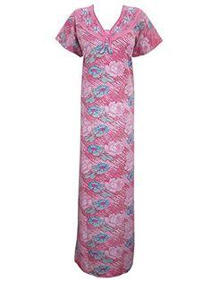 Womens Kaftan Caftan Cotton Pink Floral Printed Kaftans Knit Night Gown X-large Mogul Interior http://www.amazon.com/dp/B0118Z2GX4/ref=cm_sw_r_pi_dp_gAMNvb14DJQ11