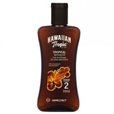 Hawaiian Tropic Tanning Oil Intense Spf2 200ml Must Have