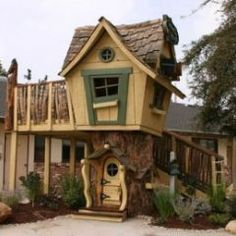Fun, wacky, I love this until I see that it costs $14,075.00 For that price, I could have bought a home with a bigger yard. So this is a what can we take from it pin. Shingles are fun as are natural elements and strange lines