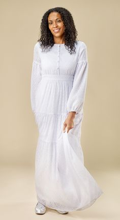 Bohemian --it's so cute!! Just the dress to add to your Garment Bag for the next Temple trip!! https://whiteelegance.com/product/boho-1130/  www.whiteelegance.com