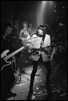 Chrissie Hynde of the Pretenders in London, 1979 by David Corio