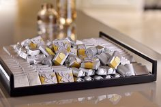 Impress with a refined #gift #arrangement brimming with exclusive Patchi #chocolates!