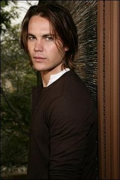 Taylor Kitsch. Love him with his long hair.