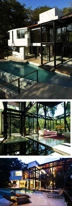 The MC1 House, designed and built by Juan Robles, Costa Rica