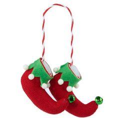HANG ON Weihnachtself Schuhe