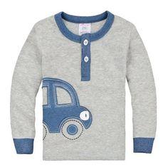 Boys Cotton T shirt w/Car Applique  #christmasfashion #cozy #girlsskirts #girls #christmasshop #skirt #girlshoes #babygift #girlsclothing #girlsskirt