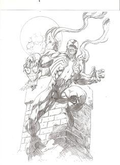 Venom Victorious - Mark Bagley Comic Art