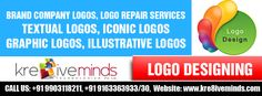 Logos act in creating a positive impression upon the minds of your target customers. With effective and well designed logos, your company's credibility gets enhanced which further boosts your business prospect! Choose Kre8iveminds Technologies Pvt. Ltd. for the best Logo Designing Services in India at reasonable cost! http://www.kre8iveminds.com/