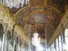 Palace of Versailles - Hall of Mirrors - Summer 2007