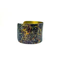 Christmas Jewelry - Galaxy Jewelry - Cuff Bracelet - Christmas Gift for Her - Xmas Gift - Aluminum Bracelet - Bold Jewelry - Sku R13-DS005