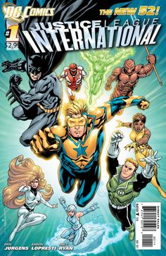 Booster Gold with Justice League International (Issue #1)