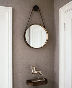 Rounded Hallway Mirrors