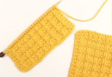 How to Knit the Waffle Stitch Pattern