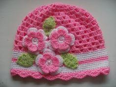 Gorro tejidos a crochet para bebe de verano - YouTube