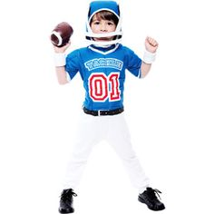 lil big football player toddler halloween costume - Halloween Costume Football