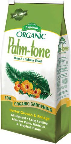 Palm-Tone will help you grow the best Palm, Hibiscus, and Tropical plants ever!