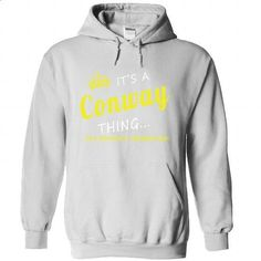 Conway - #gift for girlfriend #hoodies/sweatshirts