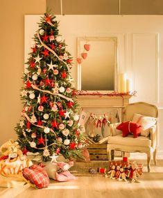 Las Navidad y sus curiosidades | El Mueble All Things Christmas, Christmas Home, Merry Christmas, Christmas Decorations, Holiday Decor, Home Living Room, Arts And Crafts, Instagram, Fun