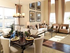 """Ryland Homes """"Edgewater"""" Floor plan - I love the open space!"""