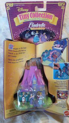 VINTAGE 1995 Disney Tiny Collection-Cinderella-Stepmother's House-Polly Pocket  | eBay