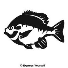 The Bluegill 2 Freshwater Fish Wall Decal will look great in that man cave, cabin, garage or any room in your home decorated with an outdoor theme.
