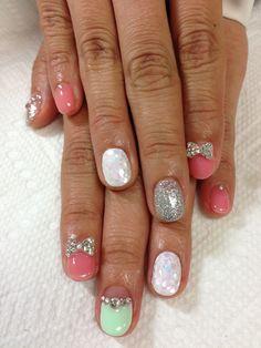 Princess gel nails