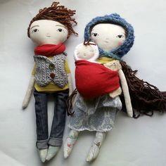 Anwen Sutherland - humbletoys: handmade dolls