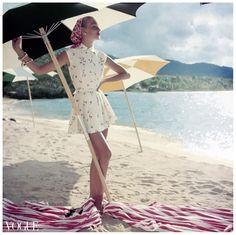 roger prigent photography : vogue : june, 1954