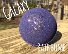 Galaxy Bath Bomb by MeltAwayBathBombs on Etsy https://www.etsy.com/uk/listing/228742844/galaxy-bath-bomb