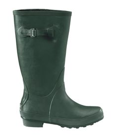 The basic L.L.Bean Wellie ($59) aced our water-resistance tests and won fans with its easy-on, easy-off style and comfy contoured footbed. Consumer testers also complimented the softness of the lining fabric, but be aware: It could take a day or so to dry if it gets wet. In five colors and prints, and whole sizes 6 to 11.  - GoodHousekeeping.com