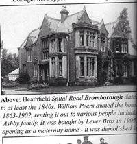 Heathfield - the maternity home where I was born. Local History, British History, Family History, Cheshire England, Rent Me, The Good Old Days, Old Photos, Childhood Memories, Liverpool
