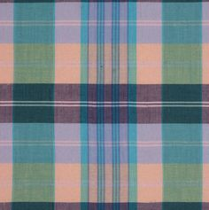 Multi-Colored Plaid Cotton Shirting Fabric by the Yard | Mood Fabrics