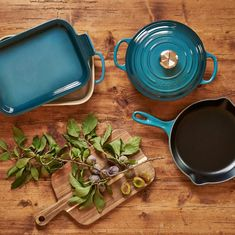 Luxe and luminous, Deep Teal is just right for fall. What's your favorite piece available in this colorful new arrival? 📸: @AmazonHome Deep Teal, Le Creuset, Colorful, Fall, Kitchen, Autumn, Cooking, Fall Season, Kitchens
